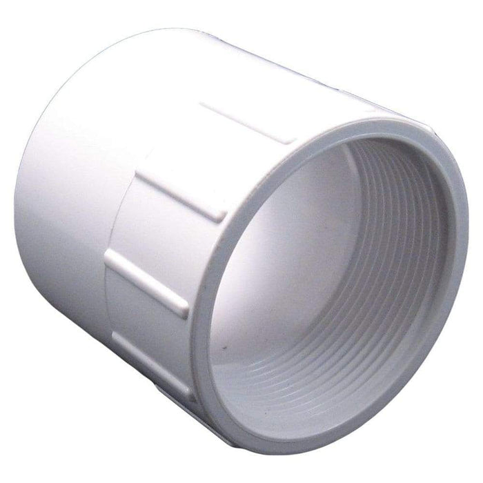 Lesso - 6 Sch40 PVC Female Adapter Socket x FPT - 435-060