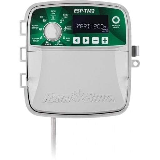 Rain Bird - ESP-TM2 - 12 Station Indoor/Outdoor 120V Irrigation Controller (LNK WiFi-compatible)
