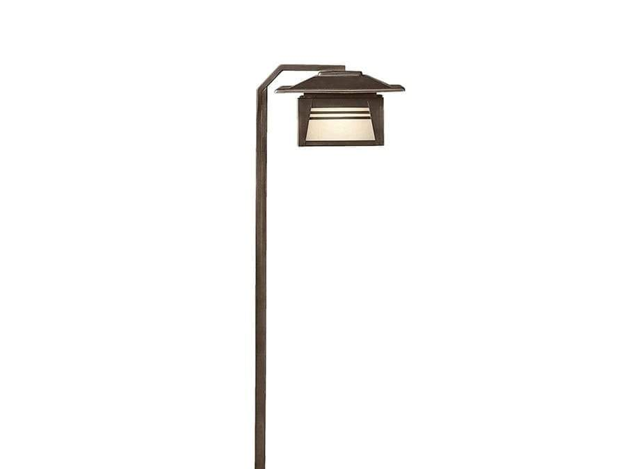 Kichler - Path & Spread 1-Lt 12V  15391OZ (Olde Bronze)