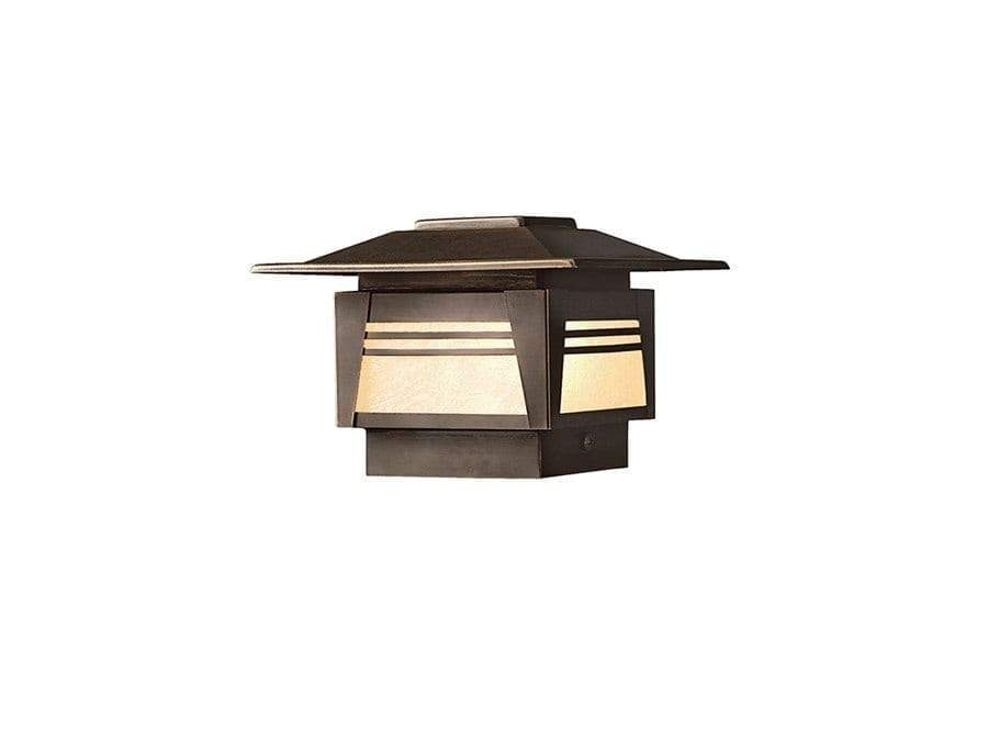 Kichler - Deck Post 1-Lt 12V  15071OZ (Olde Bronze)