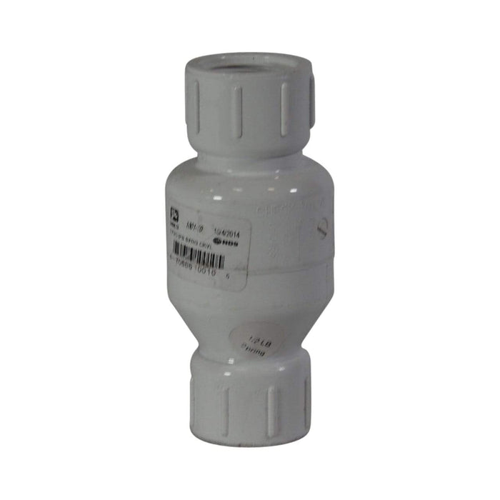 NDS - 1 PVC Swing Check Valve SS 1520-10