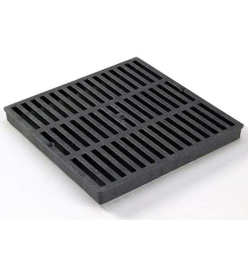 "NDS - 1211 - 12"" Square Catch Basin Grate, Black"
