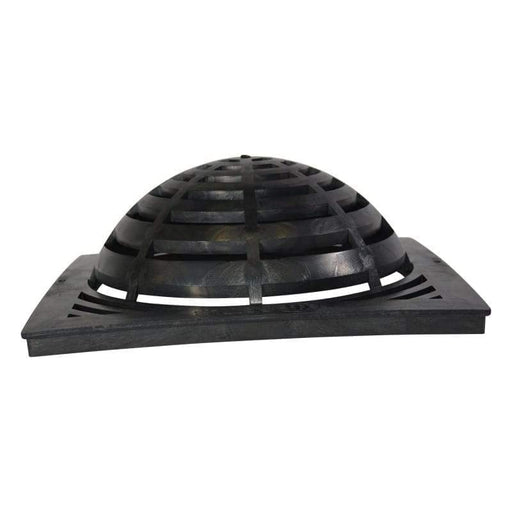 "NDS - 1881 - 18"" Square Catch Basin Atrium Grate, Black"