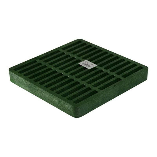 "NDS - 990 - 9"" Square Grate, Green"
