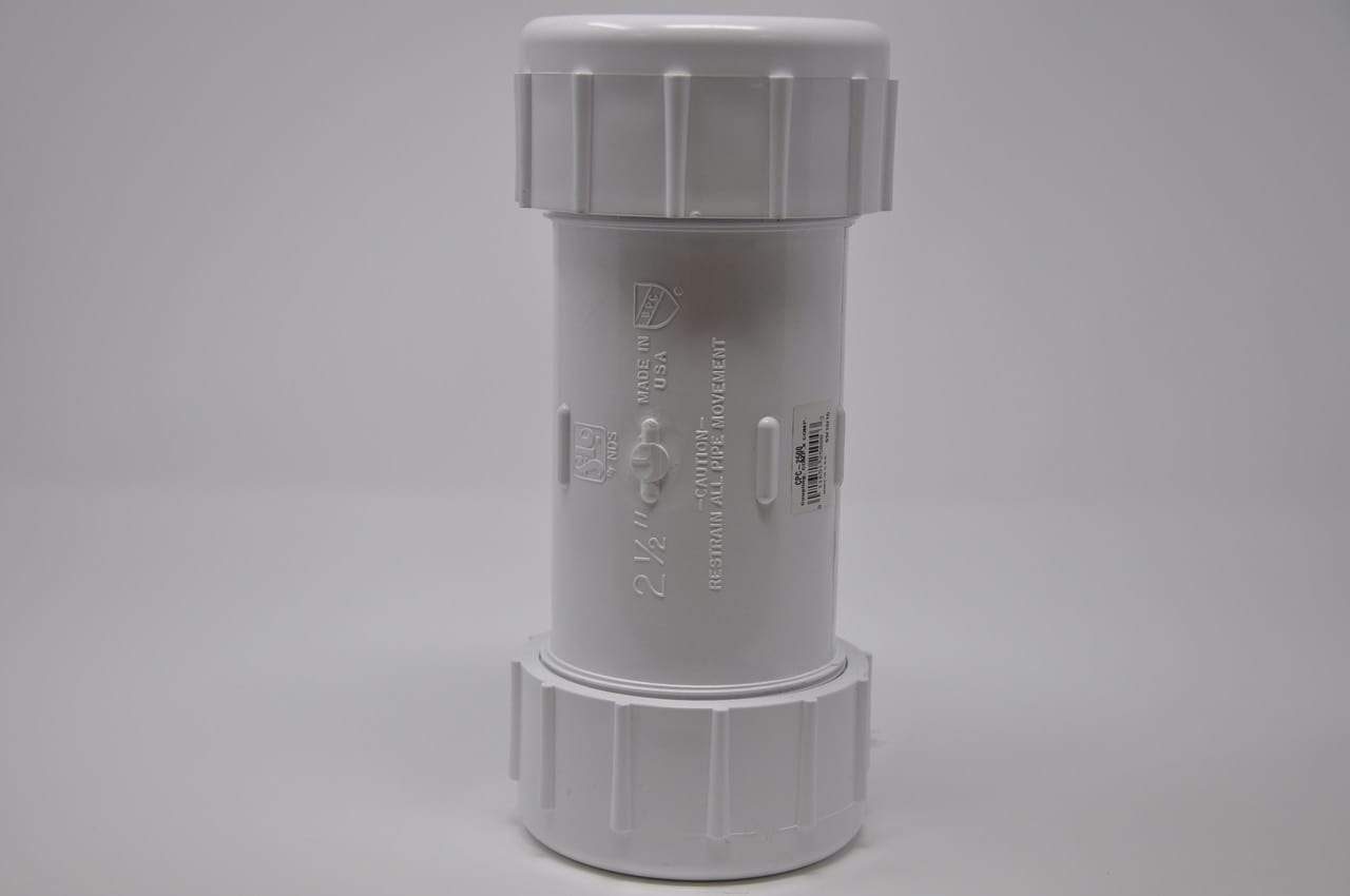 Spears - 2 1/2 PVC Compression Coupling - CPC-2500