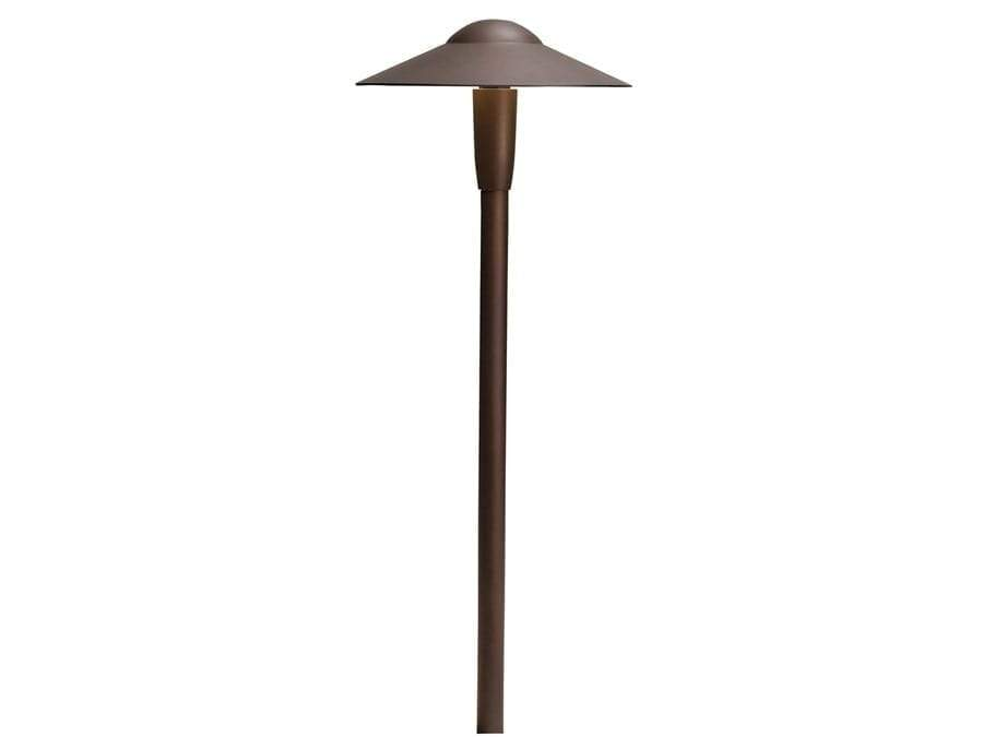 Kichler - Dome 2700K LED Path Light AZT  15810AZT27R (Textured Architectural Bronze)