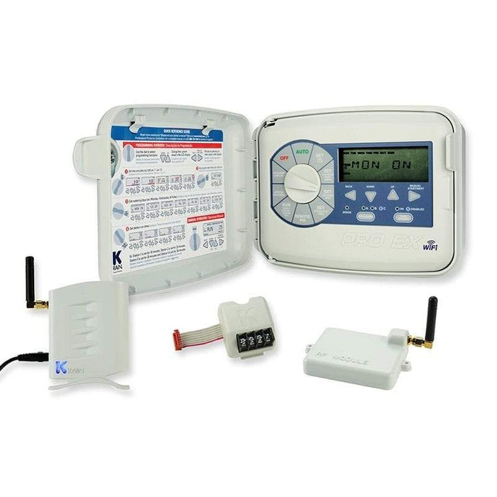 K-Rain - WiFi Enabled Pro EX 2.0 Modular Irrigation Controller, Outdoor 110V - 3202-WiFi-Kit