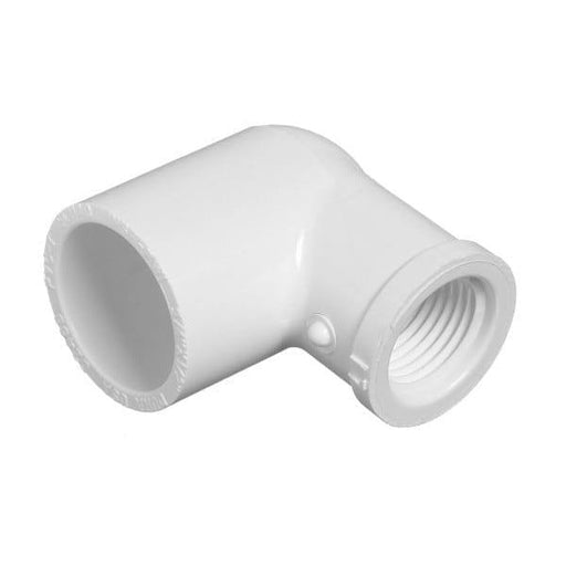 Lesso - 1 x 1/2 Sch40 PVC 90-Degree Elbow Socket x Thread - 407-130