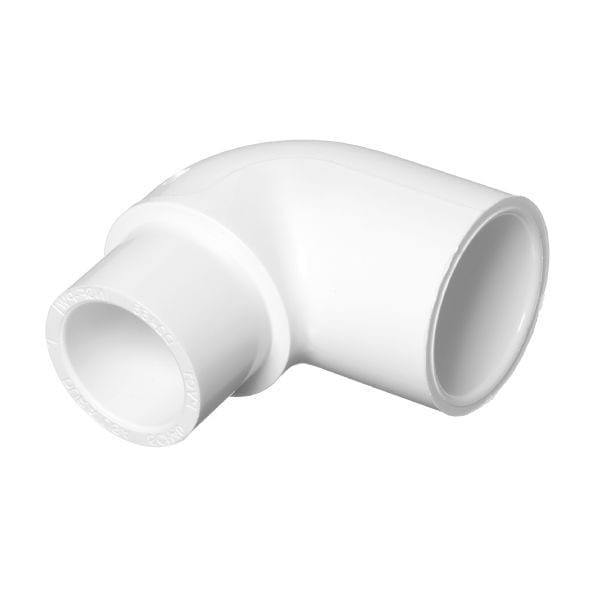 Lesso - 1 x 3/4 Sch40 PVC 90-Degree Elbow Socket - 406-131