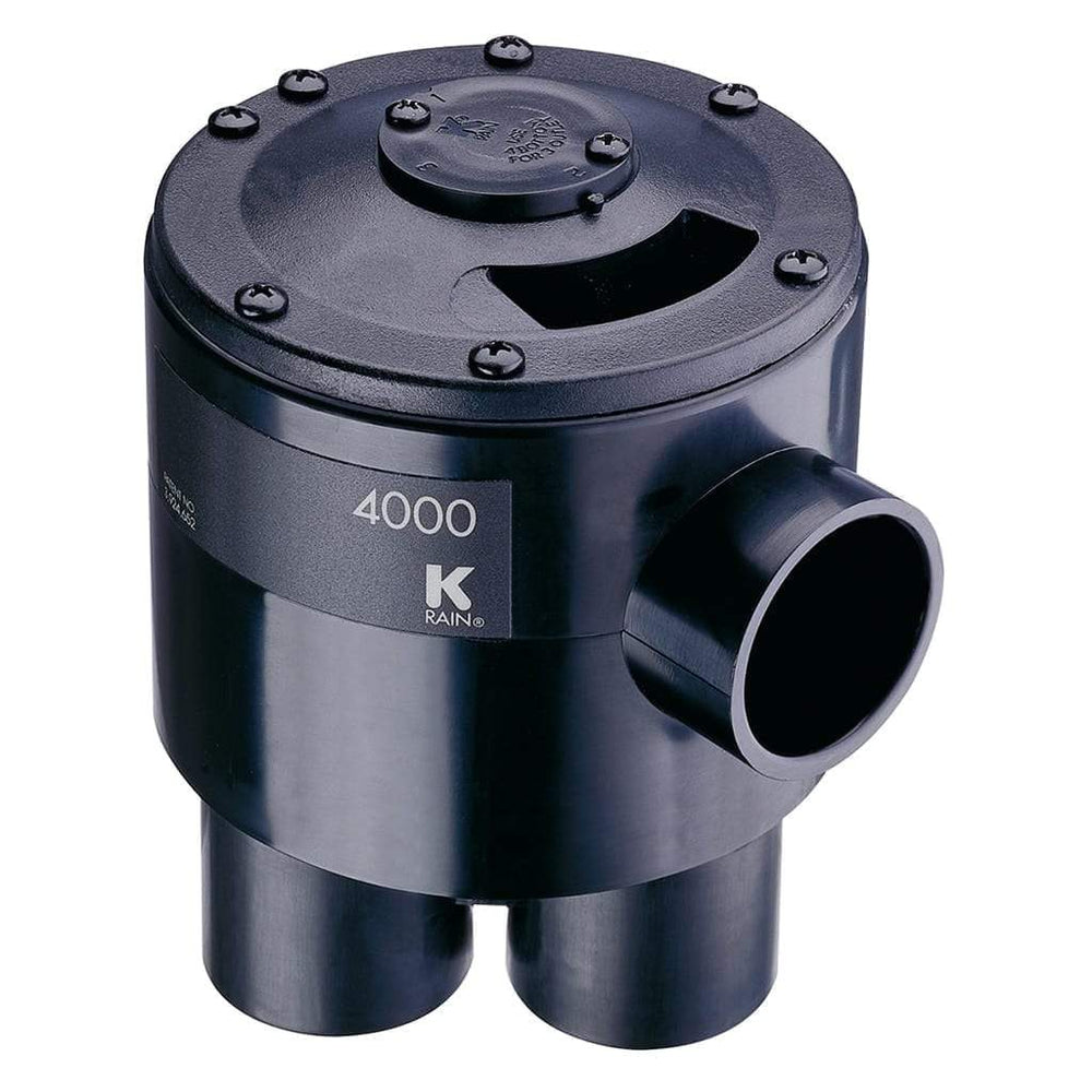 K-Rain - 4000 Valve: 6 Outlet 4 Zone - 4604