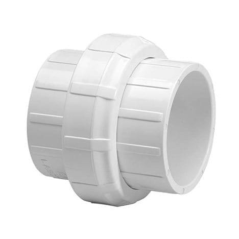 Dura - 1 1/2'' Sch40 PVC Union Socket - 457-015