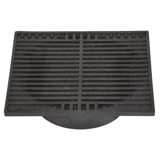 "NDS - 970 - 9"" Square Grate, Black"