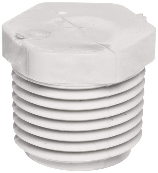 Lesso - 1/2 Sch40 PVC Plug Threaded MPT - 450-005