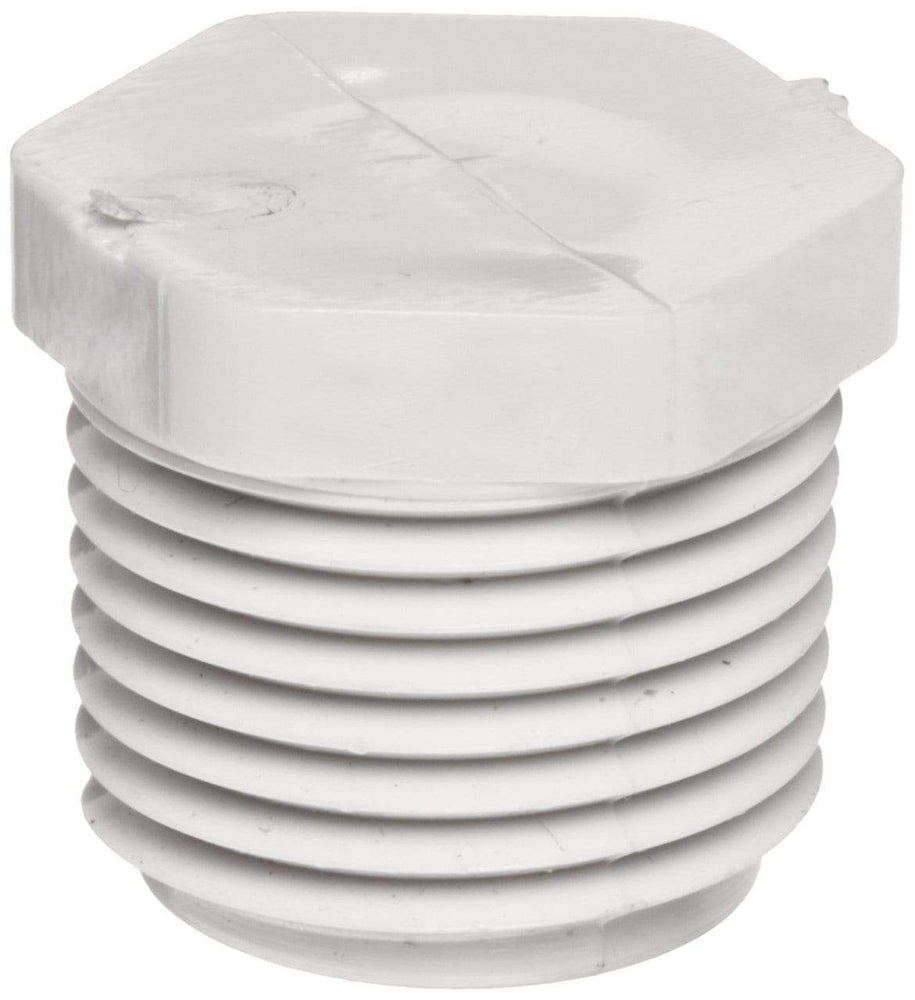 Lesso - 3/4 Sch40 PVC Plug Threaded MPT - 450-007
