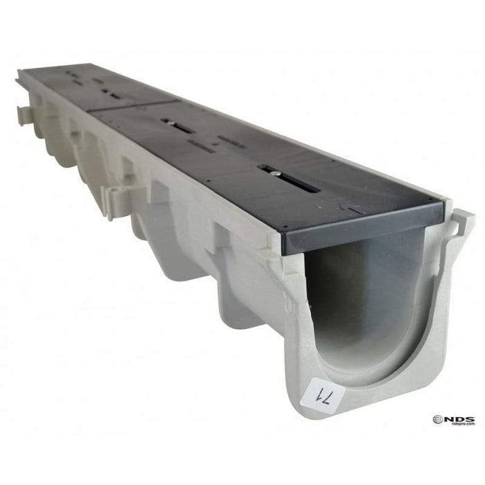 "NDS - DS-096 - 5.68 to 6.07"" Deep Dura Slope Channel Drain"