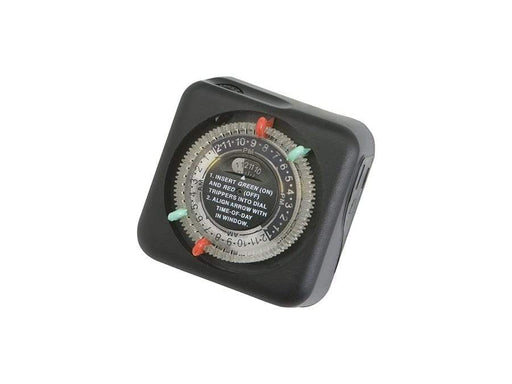 Kichler - Outdoor Enclosure Timer BK  15557BK (Black (Painted)