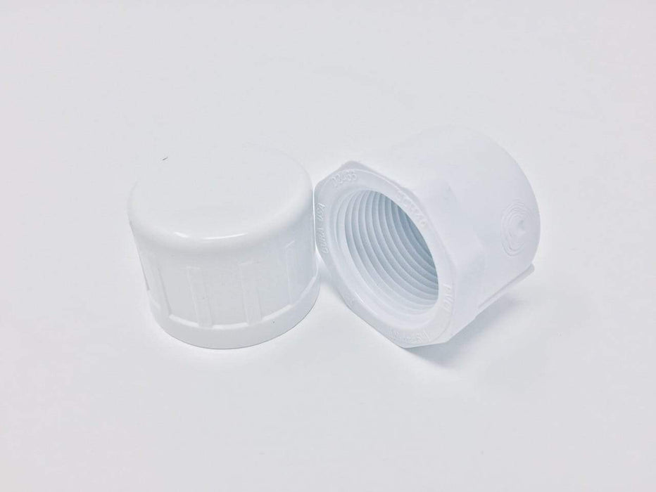 Dura - 3/4 Sch40 PVC Cap Threaded - 448-007
