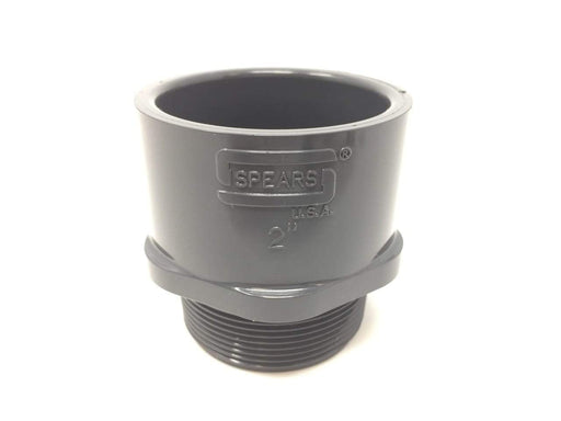 Spears - 2'' Sch80 PVC Male Adapter MPT x Socket - 836-020