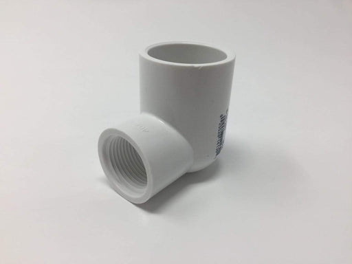 Lesso - 1 x 3/4 Sch40 PVC 90-Degree Elbow Socket x Thread - 407-131