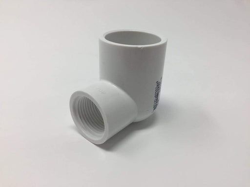 Lesso - 3/4 x 1/2 Sch40 PVC 90-Degree Elbow Socket x Thread - 407-101