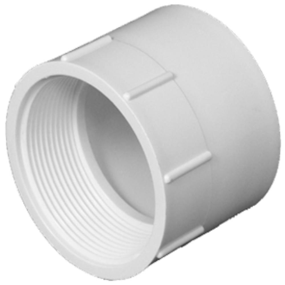Lesso - 1 1/2 Sch40 PVC Female Adapter Socket x FPT - 435-015