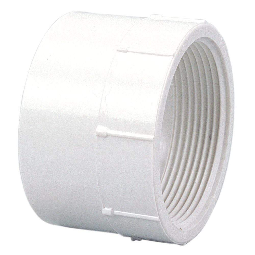 Lesso - 2 Sch40 PVC Female Adapter Socket x FPT - 435-020
