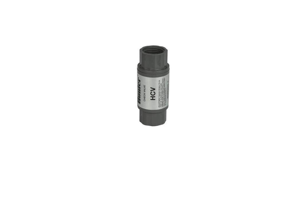 Hunter - HC-50F-50M - 1/2'' Female inlet x 1/2'' Male Outlet Check Valve