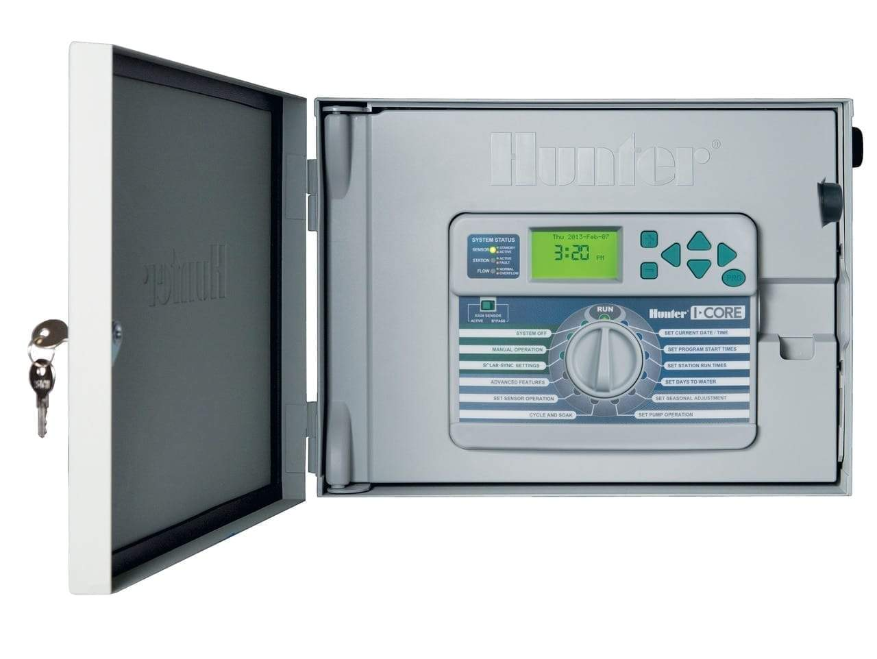 Hunter - IC-600M - I-Core 6 Station Controller w/ Metal Cabinet