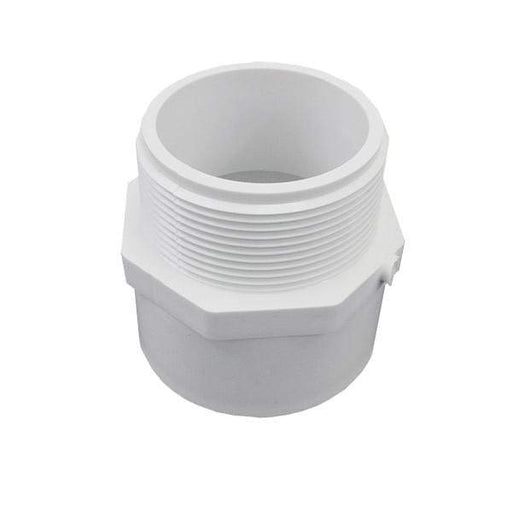 Lesso - 2 Sch40 PVC Male Adapter MPT x Socket - 436-020