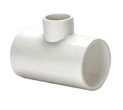 Lesso - 1 x 1/2 Sch40 PVC Reducing Tee Socket - 401-130