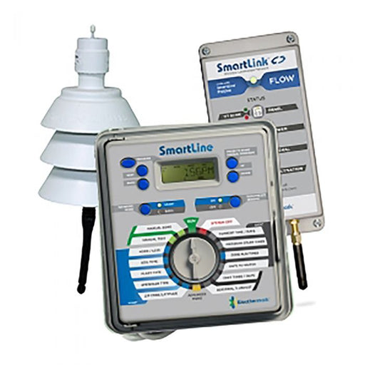 Weathermatic - SmartLine 4-Station Indoor/Outdoor Controller Bundle w/ Flow Control - SL1600-1YR-BDL-FLOW_ATT