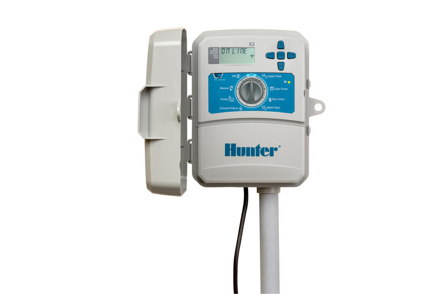 Hunter - X2-600 - 6-Station Controller w/ Plug - WiFi Ready