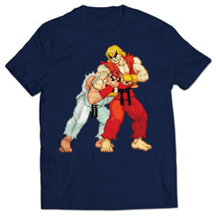 Street Fighter Alpha Noogie T-shirt