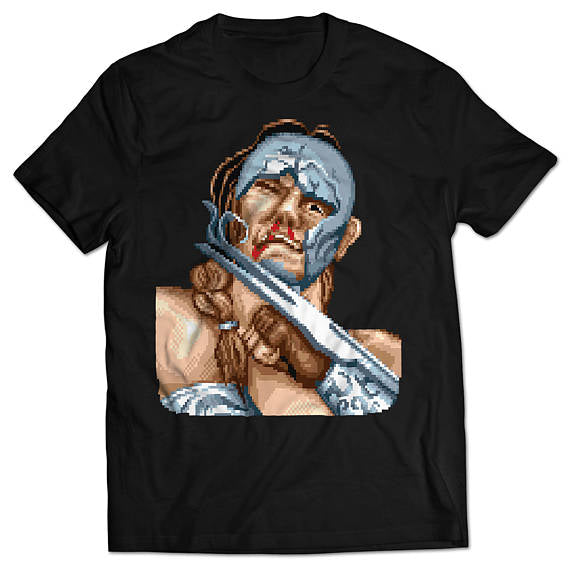 Street Fighter II Vega Defeated T-shirt