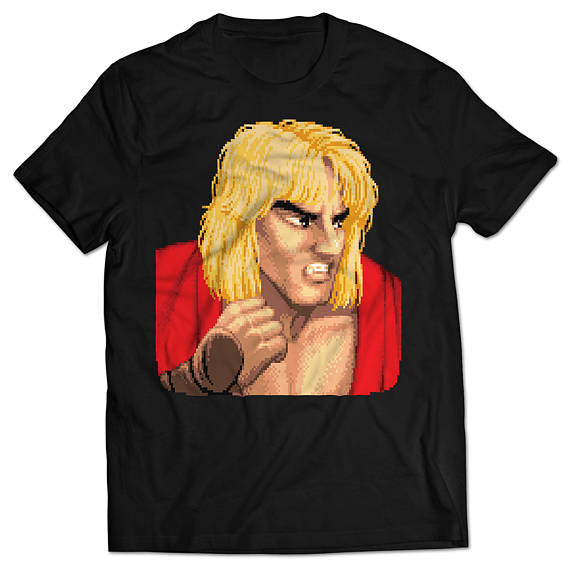 Street Fighter II Ken T-shirt