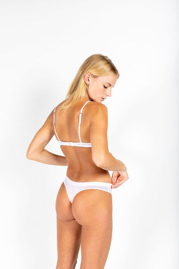 P.M Mesh Bottom // White