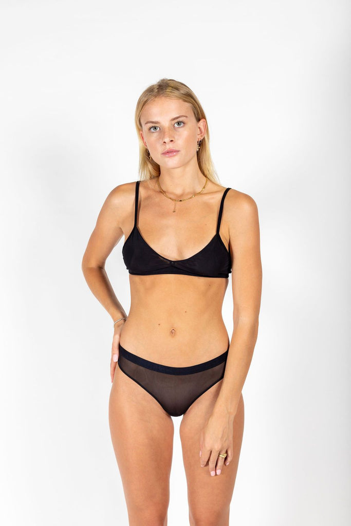 P.M Mesh Bottom // Black