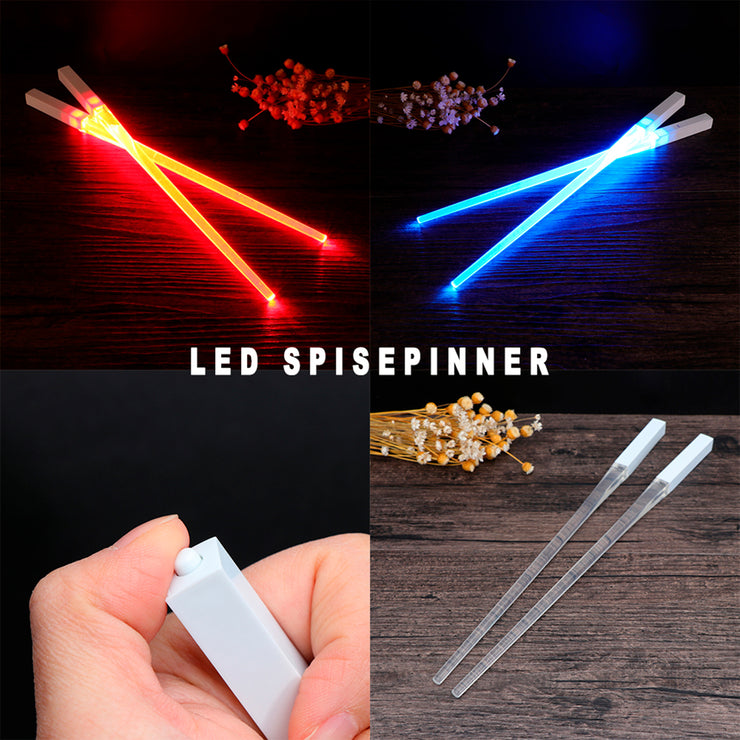 LED Spisepinner