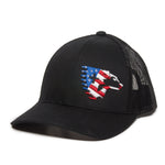 Flag Crest Cap (Black)