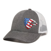 Flag Crest Cap (Grey)