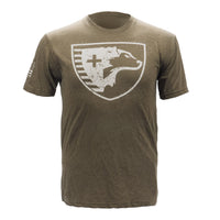 Shield T-Shirt (OD Green)