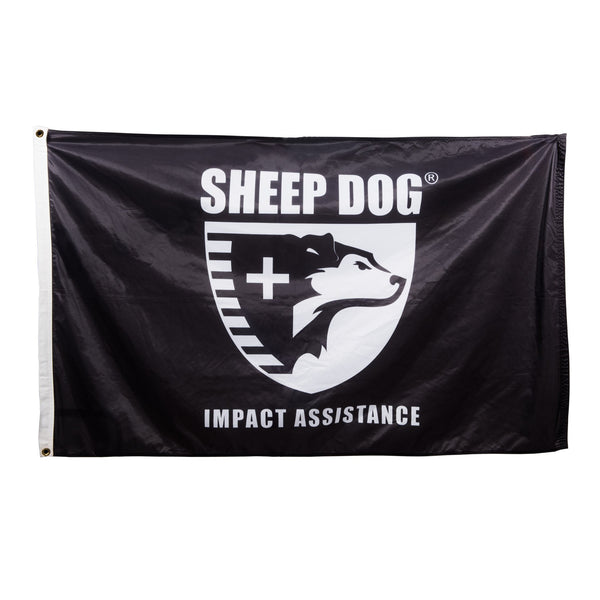 Sheep Dog Impact Assistance Flag