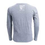 Shield Long Sleeve T-Shirt (Grey)
