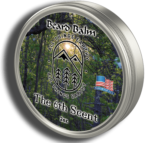 The 6th Scent Beard Balm 2oz - All Things Earthy