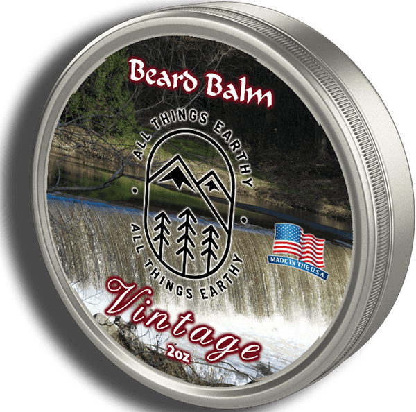 Vintage Beard Balm 2oz - All Things Earthy