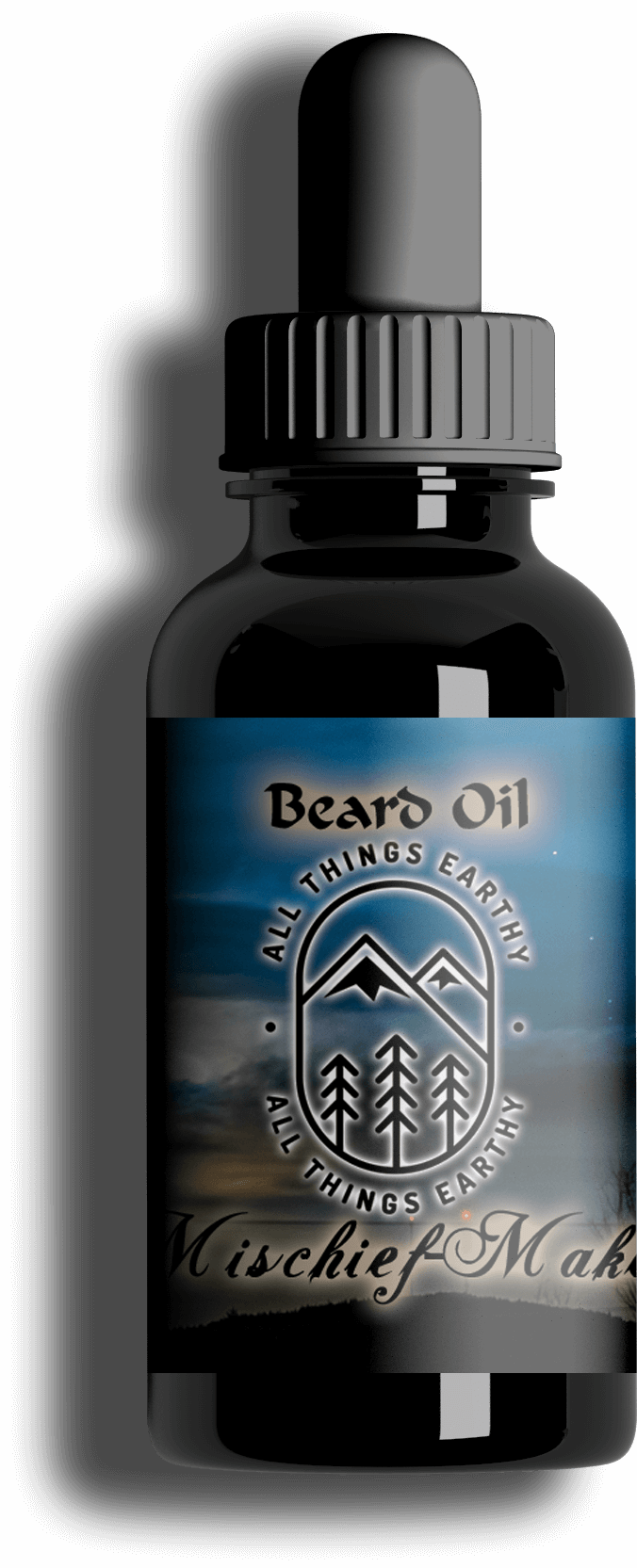 Mischief-Maker Premium Beard Oil 1oz - All Things Earthy