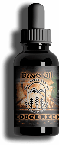 Roughneck Premium Beard Oil 1oz - All Things Earthy