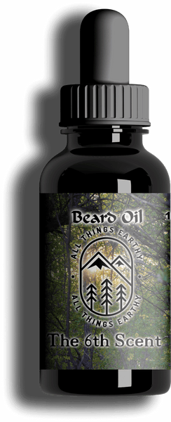 The 6th Scent Premium Beard Oil 1oz - All Things Earthy