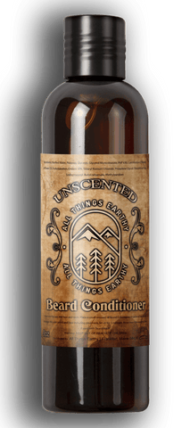 Unscented Beard Conditioner 8oz - All Things Earthy