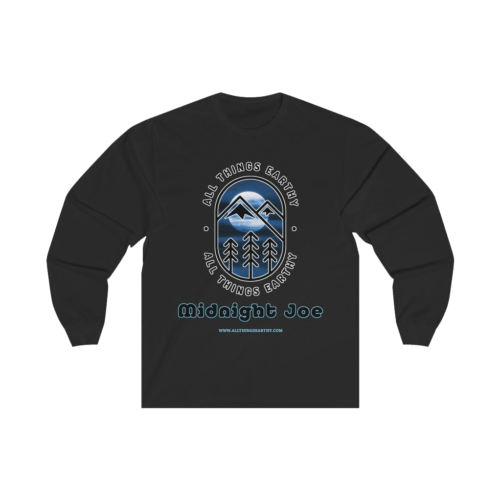Midnight Joe Long Sleeve Tee - All Things Earthy